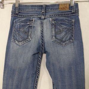 BKE Buckle Culture Bootcut Jeans Women Size 29